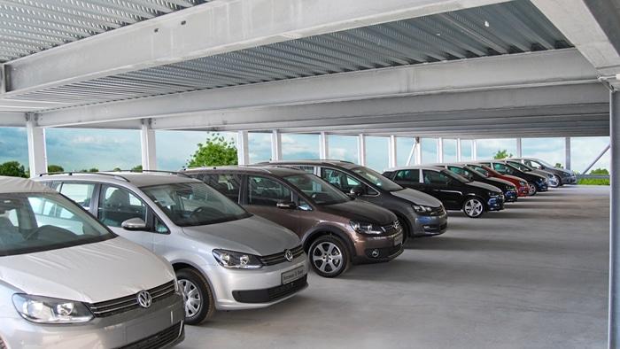 EVO-Park construit des parkings multi-niveaux métallique qui assure une aisance des déplacements