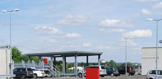 Evo-Park - Construction de parkings multi-niveaux en charpente métallique