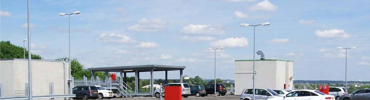 Evo-Park - Construction de parkings pour les centres commerciaux et les supermarchés.