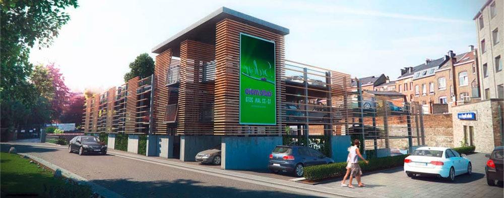 EvoPark - Construction de parkings aériens métalliques pour les éco-quartiers