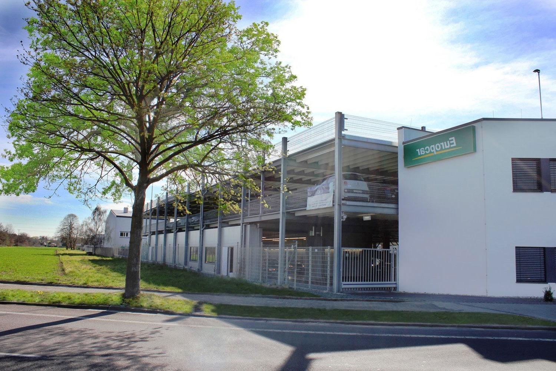 Evo-Park - Construction d'un parking aérien métallique R+3 pour le stockage de véhicules de location