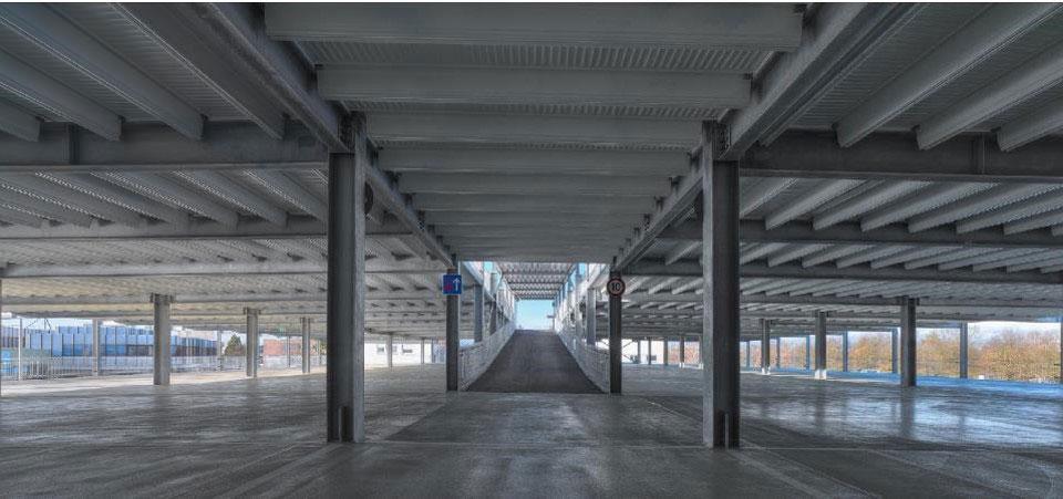 Evo-Park - Parking aérien multi-niveaux en structure métallique pour stocker des véhicules automobiles