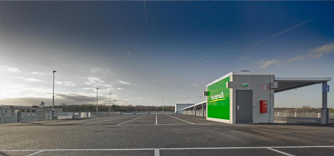 Evo-Park - Parking aérien en structure métallique R+3 comprenant 296 places de parkings pour le stockage de voitures