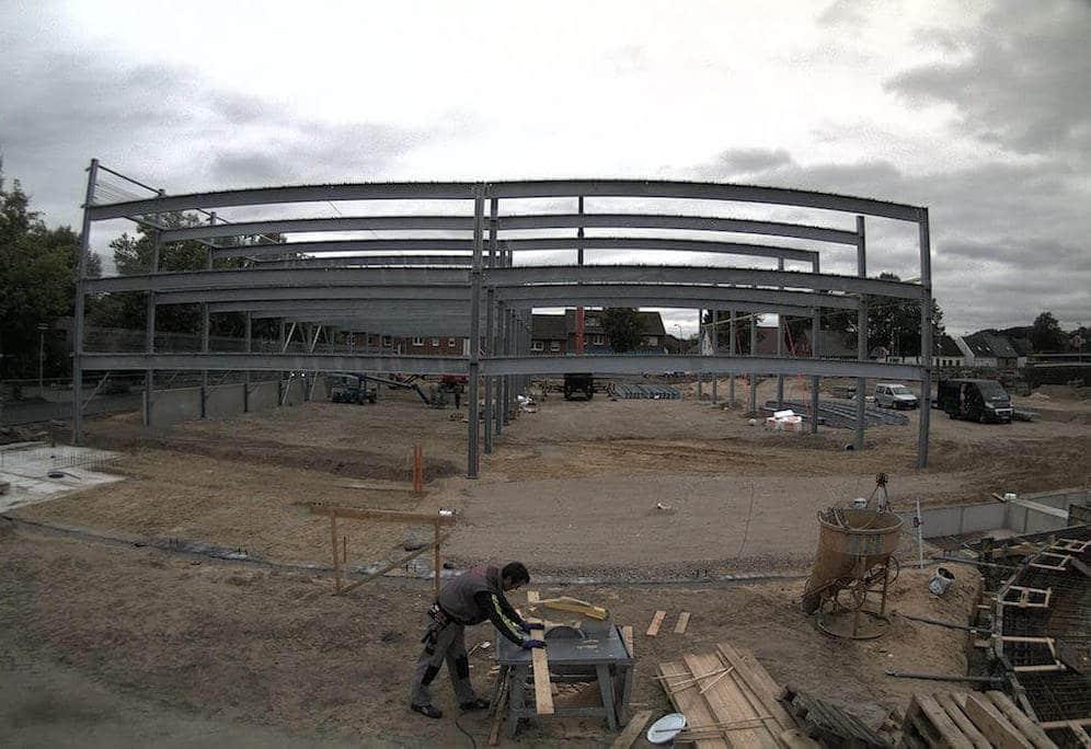 Evo-Park - Construction d'un parking aérien métallique pour un hôpital dans le Nord de l'Allemagne