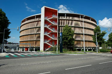Parking relais Rotonde © meyzaud et architectes